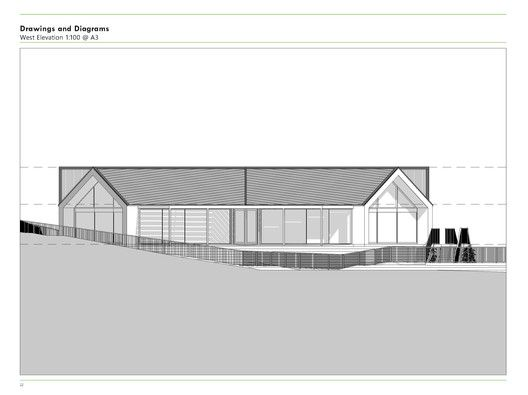 Hobsonville Point Early Learning Centre,West Elevation