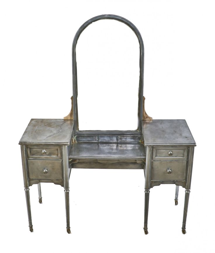 vtg 1940 50s simmons furniture metal medical. Refinished Antique American Industrial Streamlined Style Depression Era Pressed And Folded Steel Simmons Vanity With A Vtg 1940 50s Furniture Metal Medical R