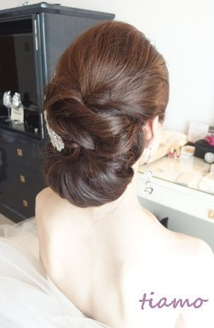 大人可愛い3スタイルチェンジ♡素敵なご結婚式  大人可愛いブライダルヘアメイク『tiamo』の結婚カタログ