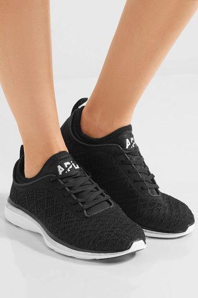 Athletic Propulsion Labs - Techloom Phantom 3d Mesh Sneakers - Black - US10.5
