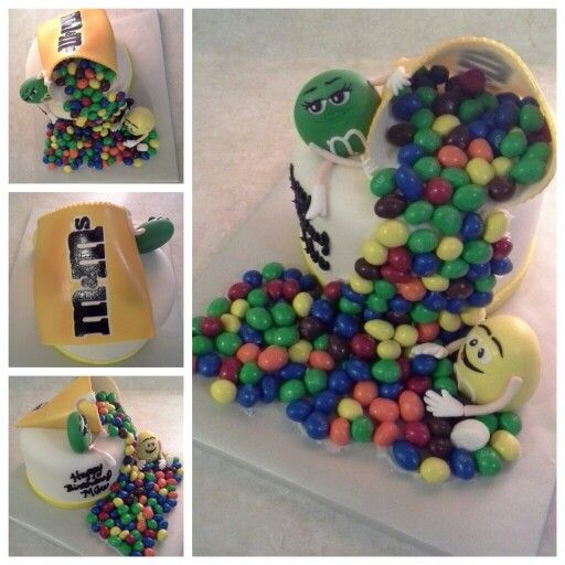 M M Birthday Cake Ideas