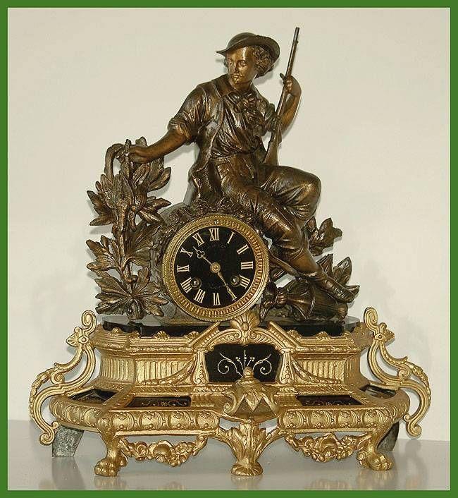 M s de 1000 ideas sobre relojes antiguos en pinterest - Relojes antiguos de mesa ...