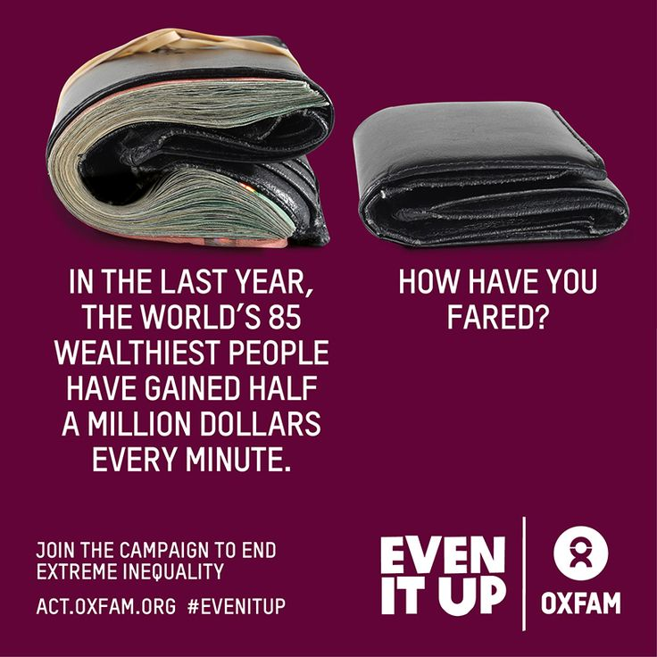 SHARE if, like us, you think it's time to #EvenItUp