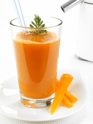 Batido De Avena, Naranja Y Zanahoria Para Limpiar El Organismo / Oat, Orange And Carrot Smoothie To Cleanse Your Organism - Natural, Orgánic...