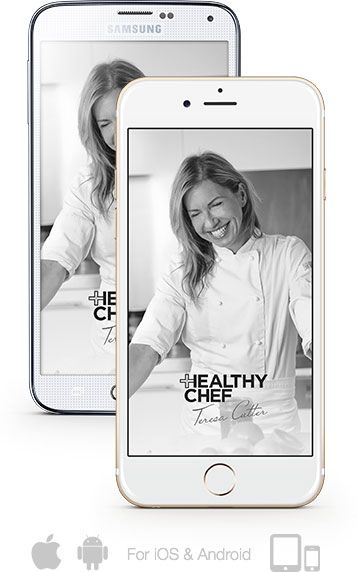 THE HEALTHY CHEF Recipe App on Apple and Android - out now!   www.thehealthychef.com