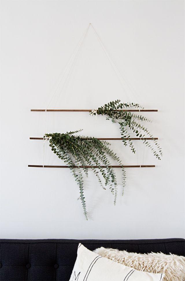 eucalyptus wall hanging
