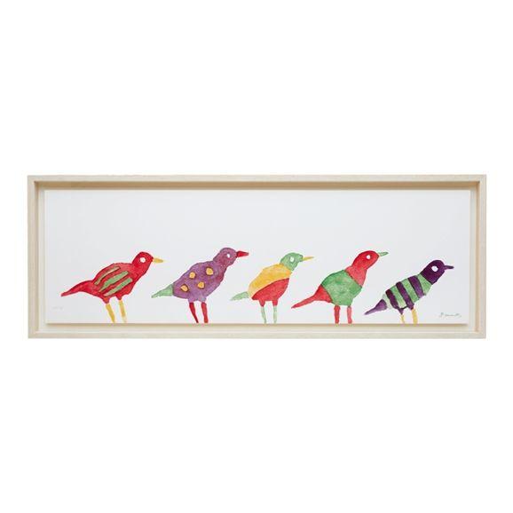 IDEE SHOP Online 柚木 沙弥郎 「小鳥」: アート・オブジェデザイン家具 インテリア雑貨: