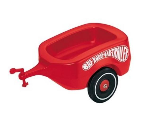 Bobby-Car 1300 - Remolque para coche Bobby-Car, color rojo [importado de Alemania]