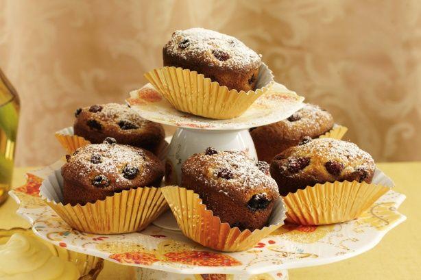 How to make Pear and raspberry cakes with lemon mascarpone @ recipesfornet