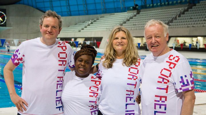 Fashion journalist Susannah Constantine, TV presenter Les Dennis, comedian Miles Jupp and EastEnders actress Tameka Empson step up to the challenge and over a 10 week period hope to increase their fitness levels.
