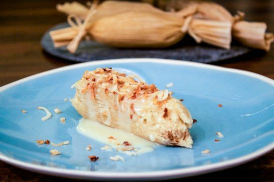 Sweet Coconut and Pineapple Tamales  For an added kick, drizzle tamales with a rum glaze and sprinkle with toasted coconut.