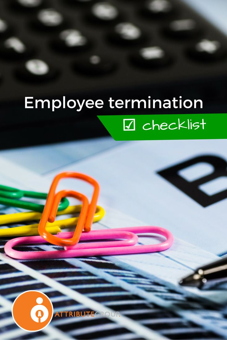 It's so important to manage the employee termination process effectively and to comply with contract terms and relevant workplace legislation, so tread carefully.  We've put together a basic employee termination process checklist that may prove a useful start when it comes to making your staff termination process as clear and uncomplicated as possible.