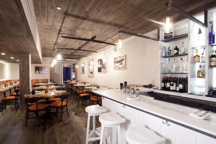 Amali Restaurant Offers Up Sustainable Mediterranean Fare on the - innovatives decken design restaurant