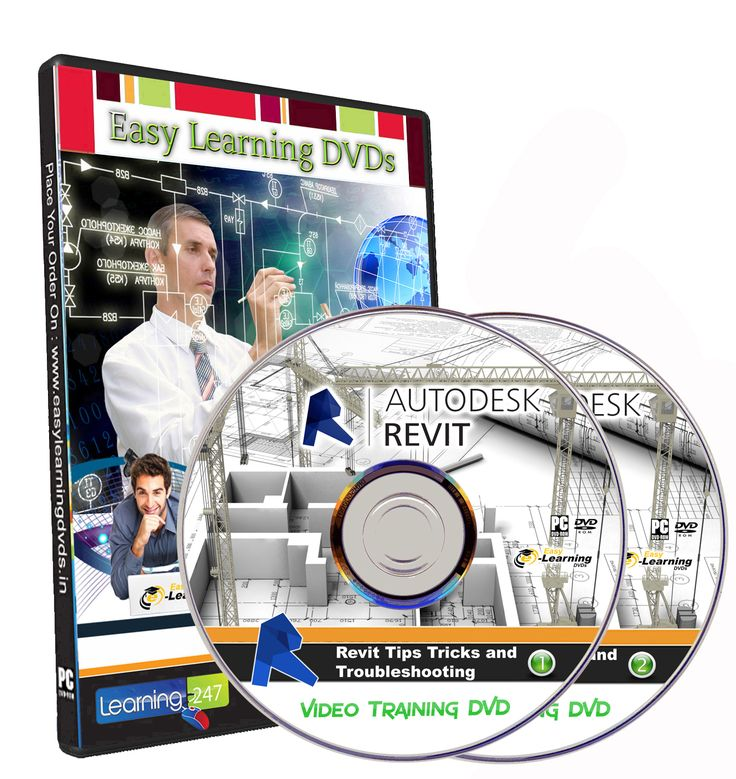 Revit Tips Tricks and Troubleshooting Video Training Tutorial Course on 2 DVDs