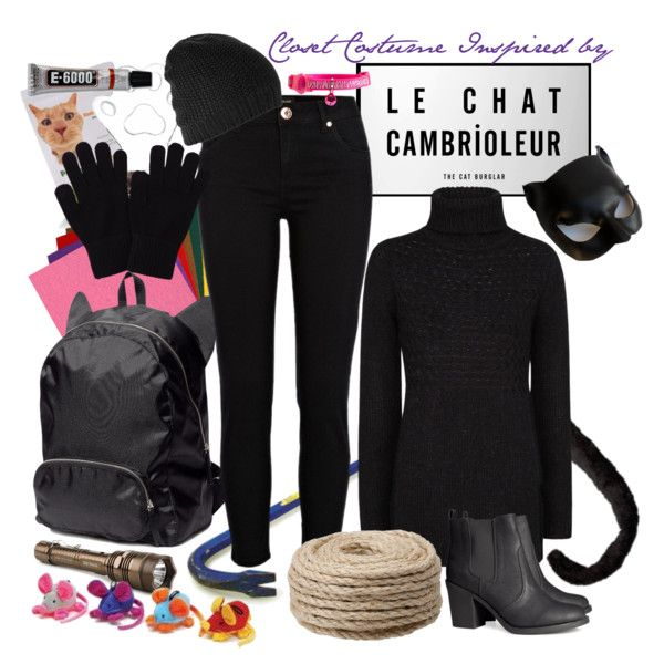 """Closet Costume: Le Chat Cambrioleur"" by leighanned on Polyvore"