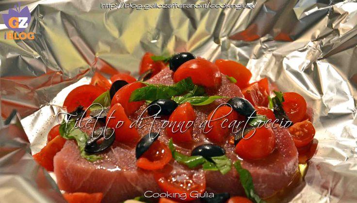 tonno | cartoccio | filetto di tonno | tonno al forno