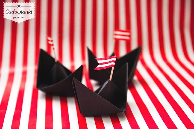 Pirate birthday party decorations. By Cudowianki.