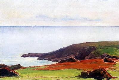 Władysław Ślewiński - Morze (moim zdaniem fascynująca kolorystyka)