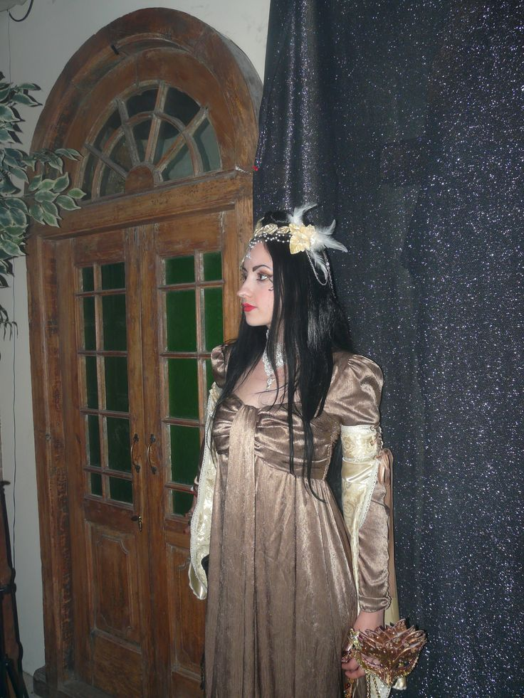 Gold faery style headdress and mask that I made for the Goblin Kings Masquerade Ball.