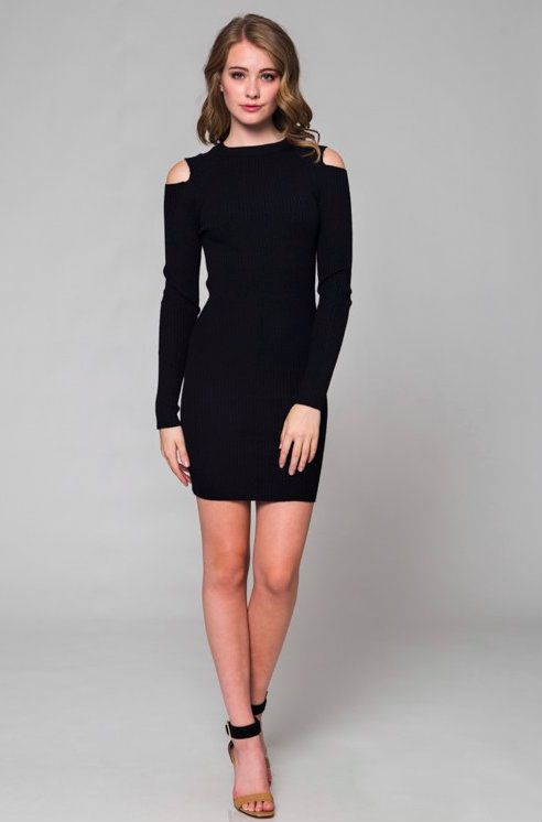 Black dress xs dien