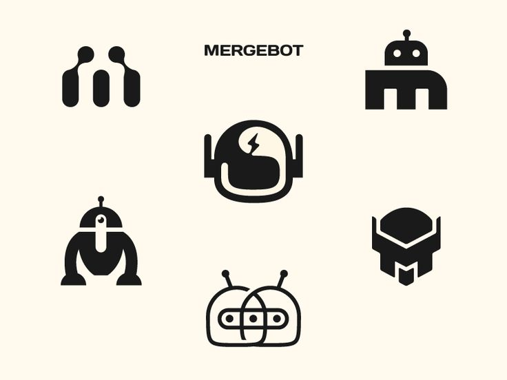 Mergebot by Stevan Rodic #Design Popular #Dribbble #shots