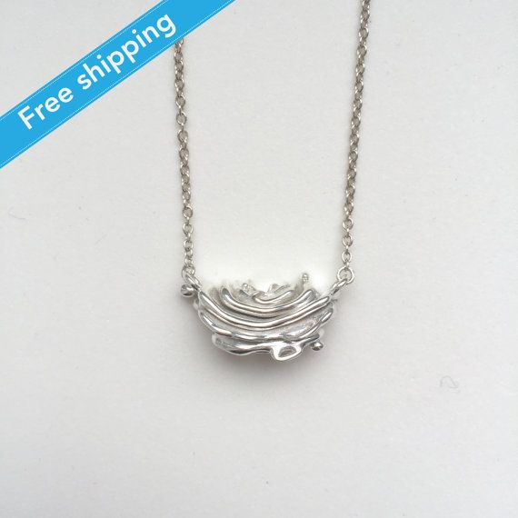 science jewelry: silver golgi apparatus necklace by somersault1824. For haley