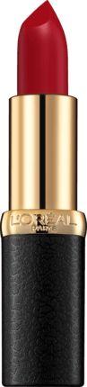 L'ORÉAL PARIS Color Riche Mattes 346 vereint mattes Finish, Pflege und Feuchtigkeit in einem. Kamelienöl sorgt für Komfort und Feuchtigkeit und Jojoba...