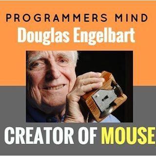 Creator of Mouse  Like share also  Follow @mindprogrammers for more   #programmer #programming #coding #code #coder #computerscience #developer #codingquotes #tech #setup #php #python #html #css #java #javascript #webdev #coderlife #webdesign #webdevelopment #webdeveloper #cs #IT #sql #wordpress #cpanel #database #rubyonrails #codingproblems #codinglife