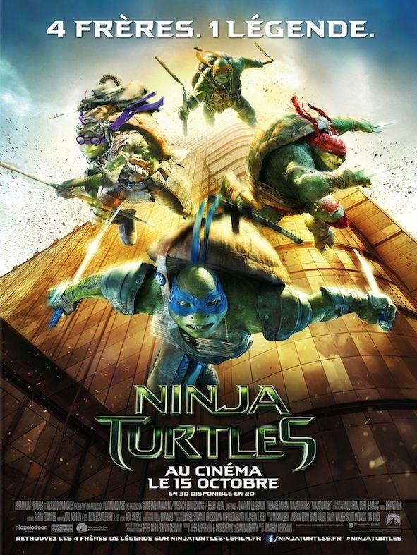Critique de Ninja Turtles de Jonathan Liebesman en salles ce mercredi 15 octobre 2014