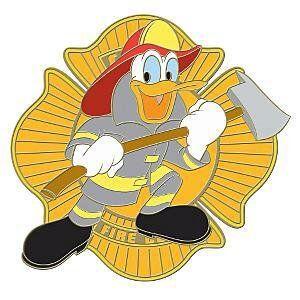donald duck fireman - Google Search