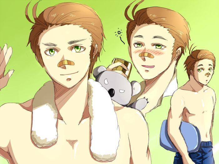 Axis Powers: Hetalia, Australia  ^_^ ^_^