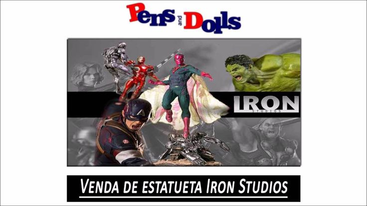 Venda de estatueta Iron Studios - Pens and Dolls