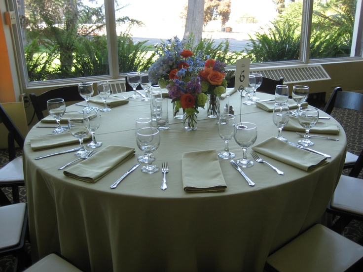 Honeydew Linens At The Golden Gate Club Flowers By Mandy Scott