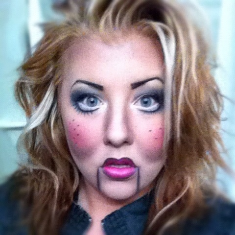 21 best Ventriloquist dummy makeup ❤ images on Pinterest ...