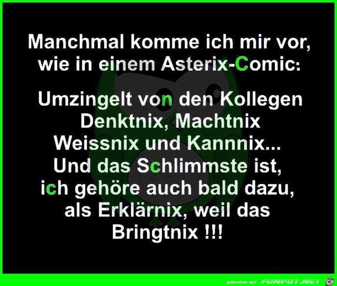 Asterix-Comic