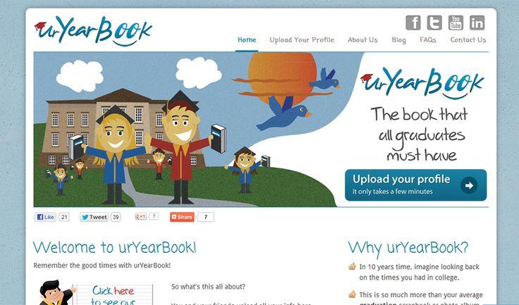 UrYearBook Website