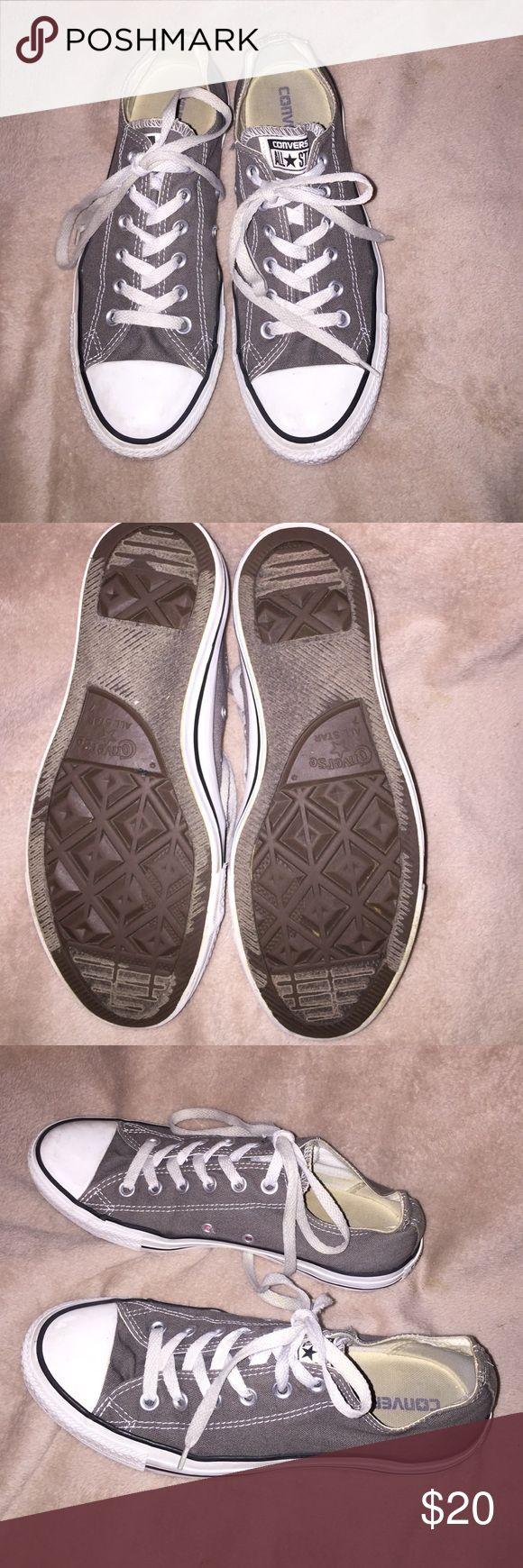 Converse AllStar canvas Sneaker- Gray. Size 7 Converse AllStar canvas Sneaker- Gray. Size 7 Converse Shoes Sneakers