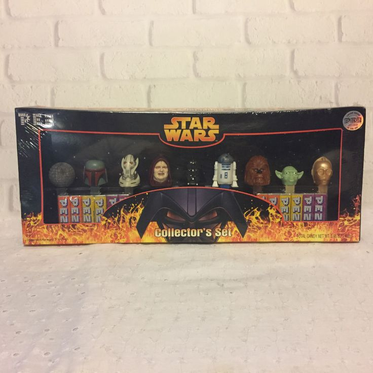 Star Wars Pez Dispensers Collectors Set 2005 Limited Edition NEW