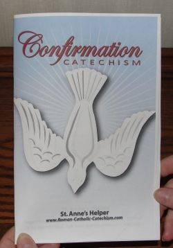 Catholic Confirmation is the sacrament that makes us strong and perfect soldiers of Jesus Christ.  Learn the Roman Catholic beliefs on a Confirmation quiz.