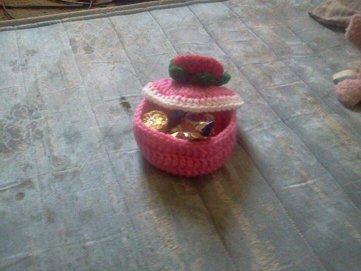 Crochet Small Candy Dish Things I Ve Made Pinterest