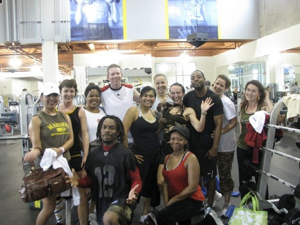 """#ThrowbackTHURSDAY  #Turbokick (TKB) """"field trip"""" to @24 Hour Fitness Carlsbad (2010?)"""