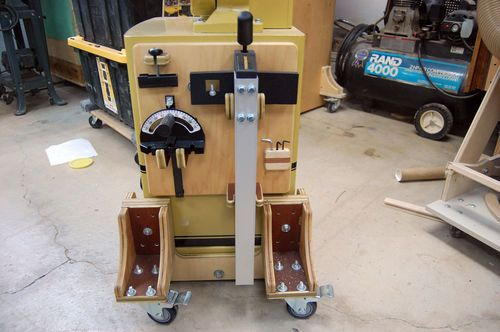 UNIVERSAL POWER TOOL MOBILE BASE IDEA • - by tyvekboy @ LumberJocks.com ~ woodworking community