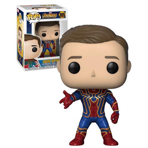 Funko Pop Marvel Avengers Infinity War 305 Iron Spider Unmasked 2018 Movie New Mint Condition Funko Pop Marvel Funko Pop Avengers Pop Marvel