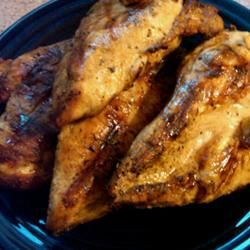 We always called this Firemens bbq chicken because all the fire depts in our part of NY State made this. I use white pepper instead of black. Miss being able to get this chicken wrapped in foil and served with salt potatoes and baked beans on Saturdays from the fire depts.