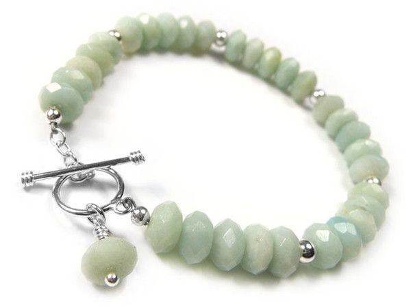 Gemstone Bracelet - Amazonite