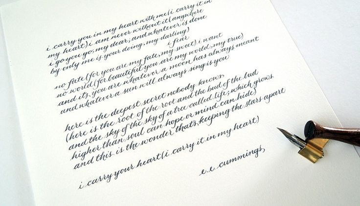 Linda Yoshida Custom Calligraphy Services In Los Angeles