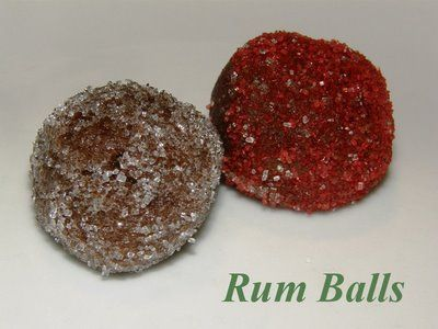 """Rum/Bourbon balls (without nuts) 