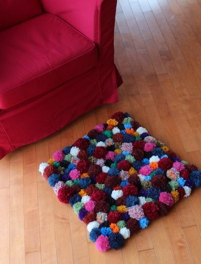 Pompom Accent Rug – DIY Tutorial | Pippa Quilts