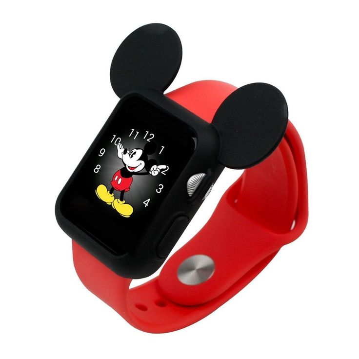 Apple Watch Case Cover #Disney #Mickey Mouse Ears 38mm 42mm Black F/s from $32.5
