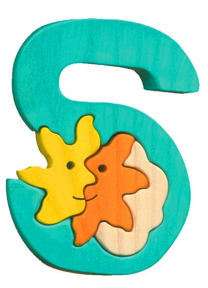 Montessori - Waldorf wooden puzzle letter S(un), made by hand of maple wood,no harmful colors and no lacquer on Etsy, $5.00